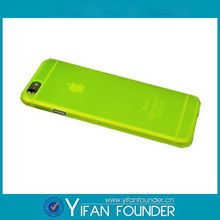 Hot sale green plastic cover for iphone 6 plus, for iphone 6 clear cover