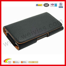 WYIPH-ABB010 With Belt Clip Belt Loop Leather Case Pouch Holster for Leather iPhone 5 Case 5G 6th Gen