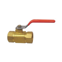 China Supplier High Quality Body Brass 150Lb Flanged Nickel Plated Ball Valve
