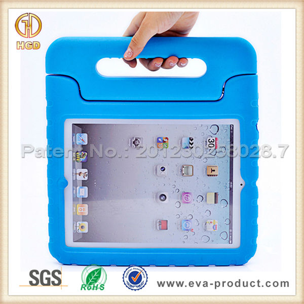 kid proof tablet case for ipad,shockproof case for ipad 2/3/4