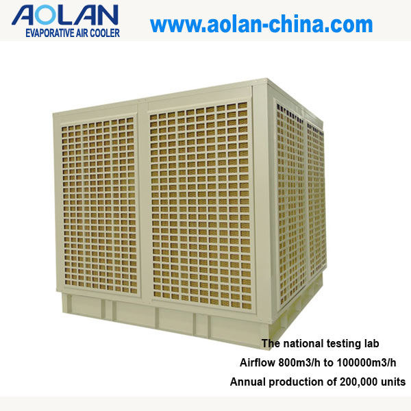 Industrial use air conditioning equipment for cooling only