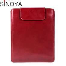 Luxury leather pouch case cover for ipad air 2 case