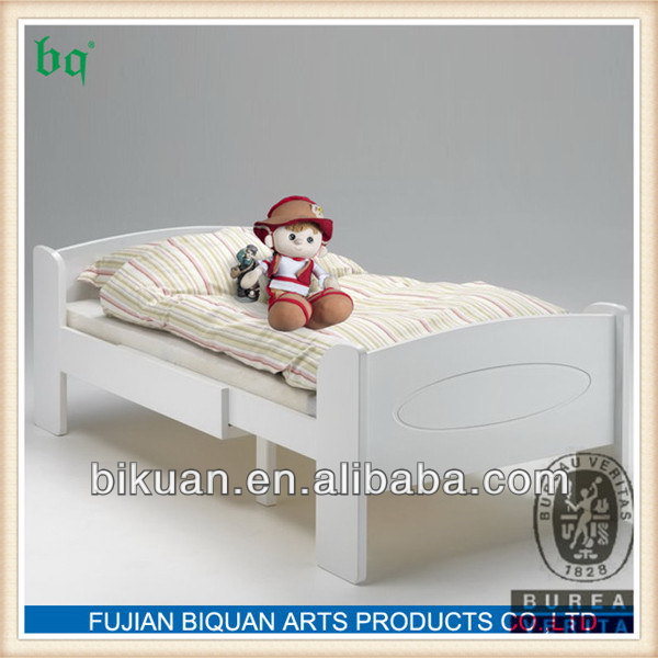 Attractive newly design mdf wood young children bunk bed