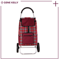 GEKE Stable Quality Handy,Sack Truck Barrow,Small Collapsible Garden Luggage Bags Travel Trolley Cart with Wheels