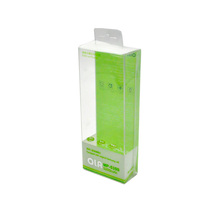 Clear hard printed plastic folding box pvc acetate box from Shenzhen