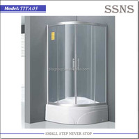 Free Standing 2 Sided Shower Enclosure Parts (TITA05)