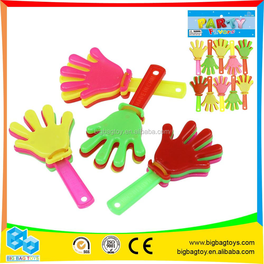 Promotional Plastic mini fan hand clapper toy for kids