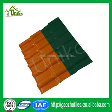 Plastic roof tile vinyl ridge roof solar panels patterned sheet for plans house