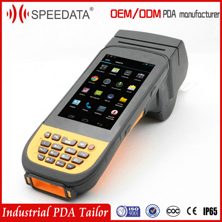 4G LTE Data Collector Portable PDA Terminal with printer ,GPRS/3G/GPS (Rugged ,IP65,waterproof dustproof)