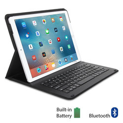 Leather Cover Case for Ipad Pro with Wireless Bluetooth Keyboard