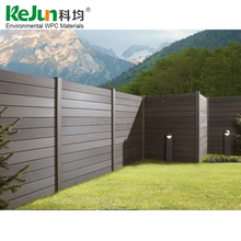 Factory directly wholesale good quality wpc compoiste fence panels,wooden fence panels