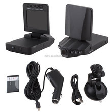 Hot selling 6IR night vision car blackbox dvr f198 hd portable dvr with 2.5 tft lcd screen driver