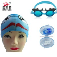 Ear Plug Nose Clip Swim Cap