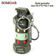 Creative military The U.S. military theme M84 hand grenade lighter