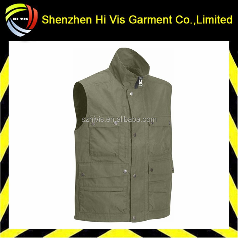 high quality custom reporter vest