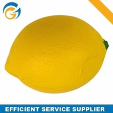 OEM Stress Ball Lemon Fruit Shaped PU Ball