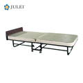 Metal Folding Cot / Bed With Mattress