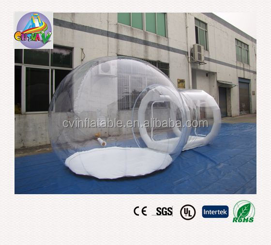 2016 inflatable bubble tent , inflatable transparent tent , inflatable clear dome tent