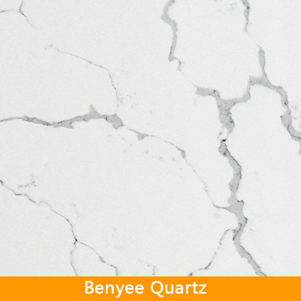 Calacatta Color Quartz Stone,Benyee engneered Calacata White Quartz