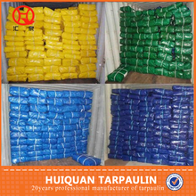 6m width weld pe tarp with pp rope and eyelet