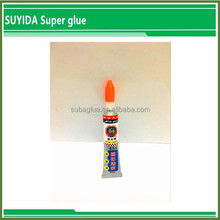 Instant dry highly adhesive super glue 25g for repair rubber