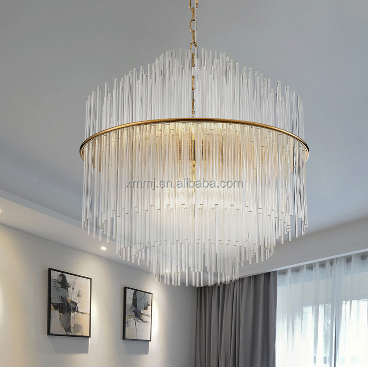 Manual hand made art clear glass home decor lights and lightings