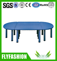 Guangzhou nursery school furniture plastic table for kids kindergarten classroom furniture