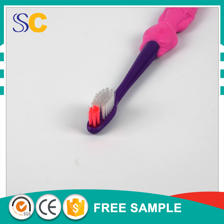 Customized children disposable kid toothbrush