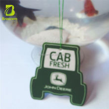 Paper style custom made many shape car air fresheners with own logo car air fresherner