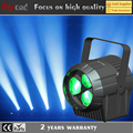 2016 new 3x15w 4 in1 rgbw led dj light wash zoom mini par can light for party
