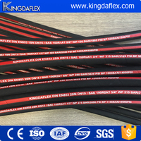 High Pressure Wire Braided Rubber Hydraulic Hose R1AT/1SN R2AT/2SN