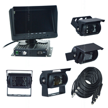 4CH 720P HD Heavy Duty truck/taxi/bus Camera Vision System Aid