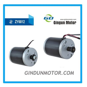 Permanent magnet dc motor used for tool and small scooter for Surplus permanent magnet dc motors