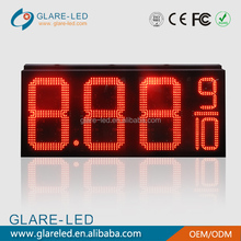 gas station led price digital sign