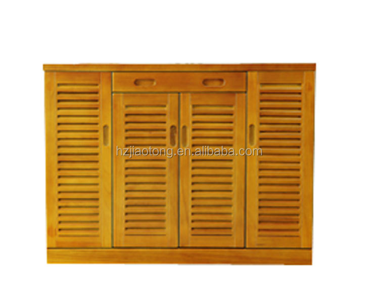 Knock Down Style Extra Large Wooden Shoe Cabinet-40 Pairs