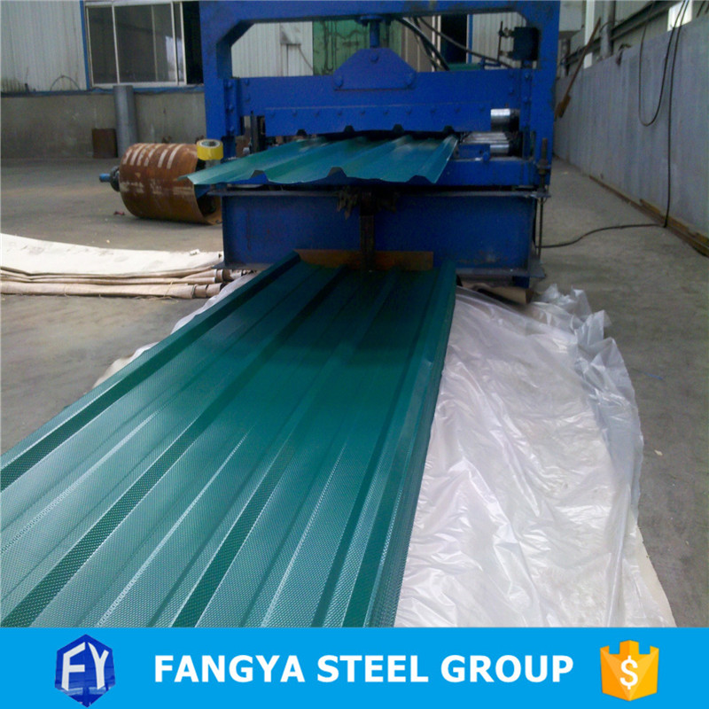 In Stock ! long span roofing sheet waterproof color coated roofing sheet