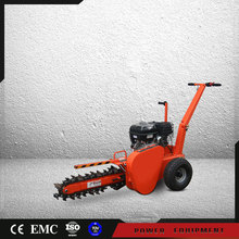 Farm professional 15hp gasoline power agriculture trench digger