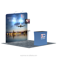 china wholesale exhibition booth tension fabric display/tradeshow booth