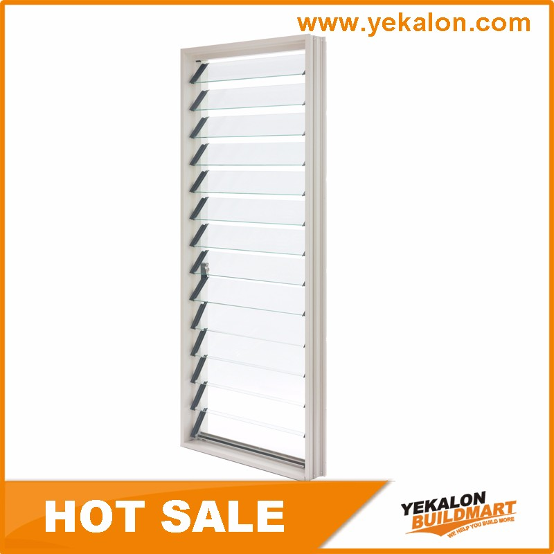 Cheap Price Aluminum Frame Window Glass Jalousie Windows From China Manufacturer