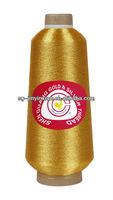Quality st-type metalized yarn for embroidery