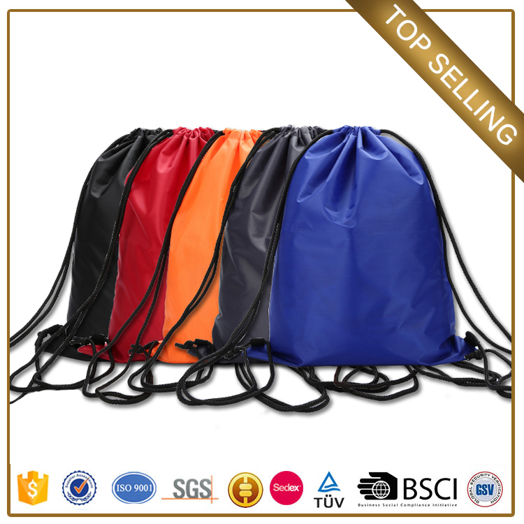 Chinese wholesale customize canvas drawstring bag for youth