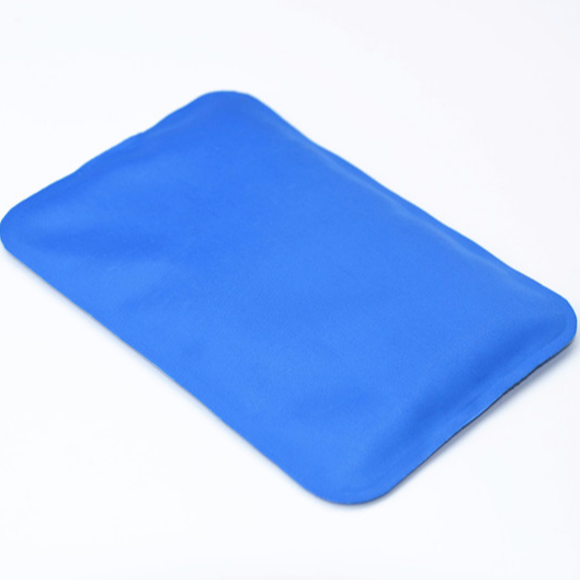Soft reusable ice pack Nylon 70D material hot cold pack with pain relief gel