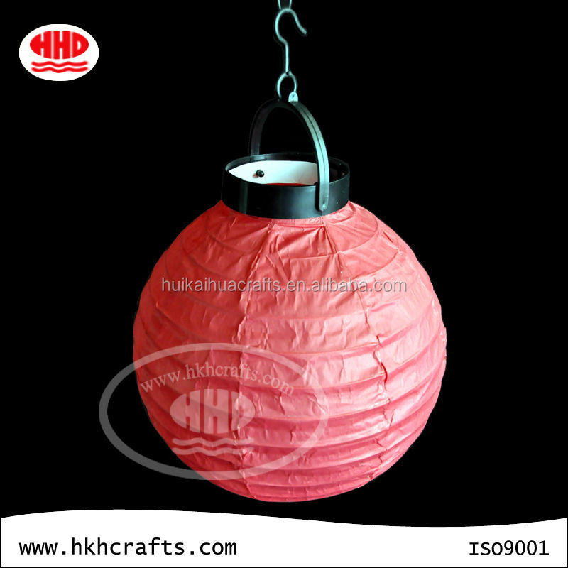 Best round outdoor party battery operated red paper lanterns