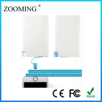 Ultra thin credit card power bank 2500mah, external battery charger For mobile phone