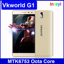 Original Vkworld G1 MTK6753 Octa Core Smart Phone 3GB RAM 16GB ROM 5.5 inch IPS 1280*720 Camera 13.0MP Android 5.1 FDD LTE 4G