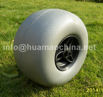 New design balloon wheel for beach cart, wholesale balloon wheel