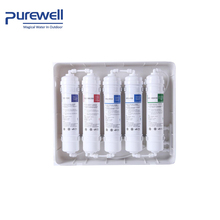 Factory sale water household UF bacteria removing filter replacement cartridge set elements