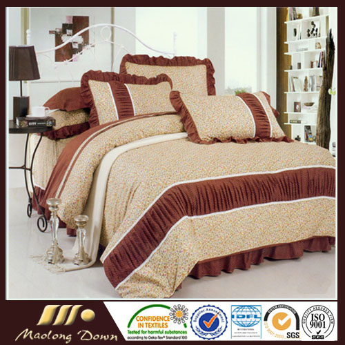 New Fashion Wholesale Good Quality 100% Cotton Home Textile Product 4pcs Bedding Set