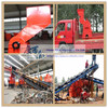 military vehicle scrap metal shredder for waste recycling/bicycle cars metal crusher machinery