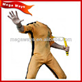 1/6 scale Kungfu action figure dolls real clothes